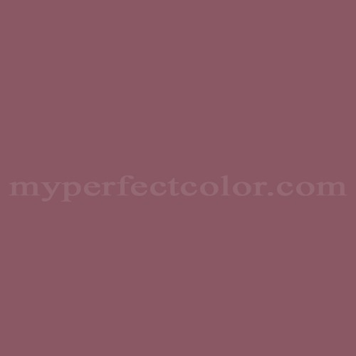 Match of Pittsburgh Paints™ 436-6 Cabernet *