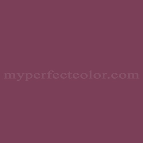 Match of Pittsburgh Paints™ 338-7 Wild Plum *