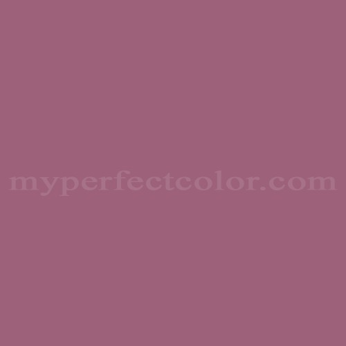 Match of Pittsburgh Paints™ 338-6 Wild Strawberry *