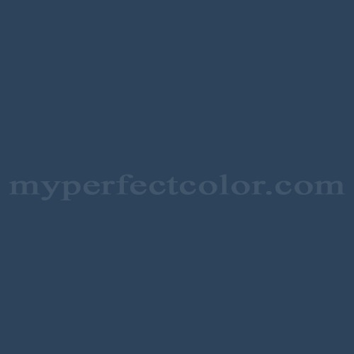 Match of Pittsburgh Paints™ 547-7 Annapolis Blue *