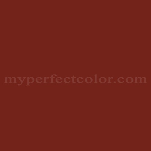 Match of Pittsburgh Paints™ 7196 Rural Red *