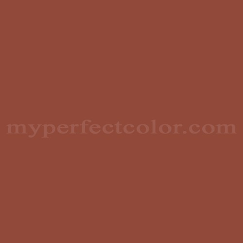 Match of Pittsburgh Paints™ SC-61 Rustic Red *