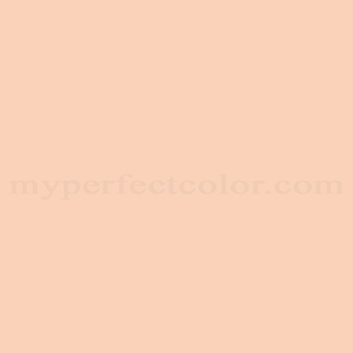 Match of PPG Pittsburgh Paints™ 2192 Peaches 'n Cream *