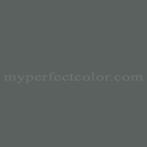 Color Match Of Pittsburgh Paints 55 307 Battleship Gray