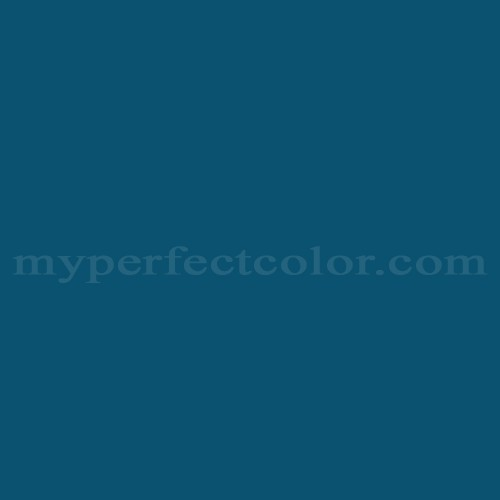 Color Match Of Pratt And Lambert 1221 Spanish Blue