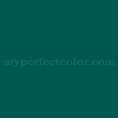 Color Match Of Pratt And Lambert 1368 Dark Teal