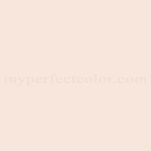 Match of Porter Paints™ 6775-1 White Pink *