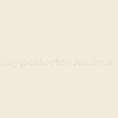 Color match of Porter Paints 6901-1 White Gold*