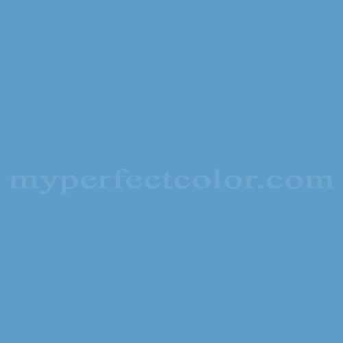 Color Match Of Porter Paints 6491 2 Warm Blue