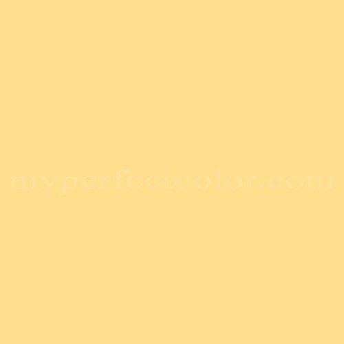 Color Match Of Porter Paints 11784 3 Warm Yellow