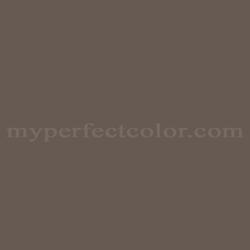 Match of Porter Paints™ 16459-2 Weathered Brown *