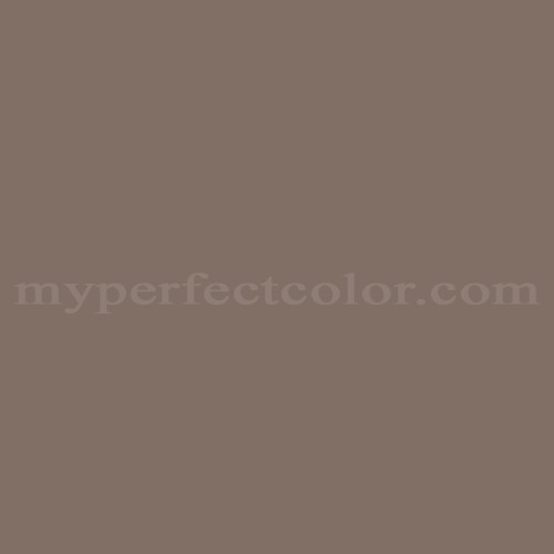 Match of Porter Paints™ 16556-3 Vermont Brown *