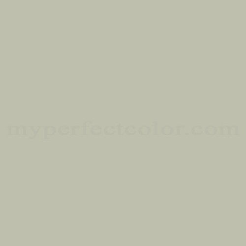 Match of Porter Paints™ 6969-1 Twig Green *