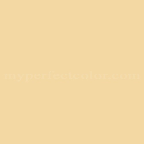 Match of Porter Paints™ 12131-2 Traditional Yellow *