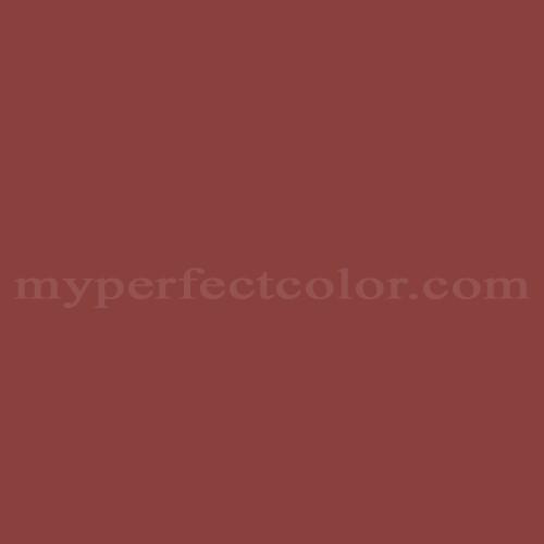 Match of Porter Paints™ 6054-7 Spanish Tile *