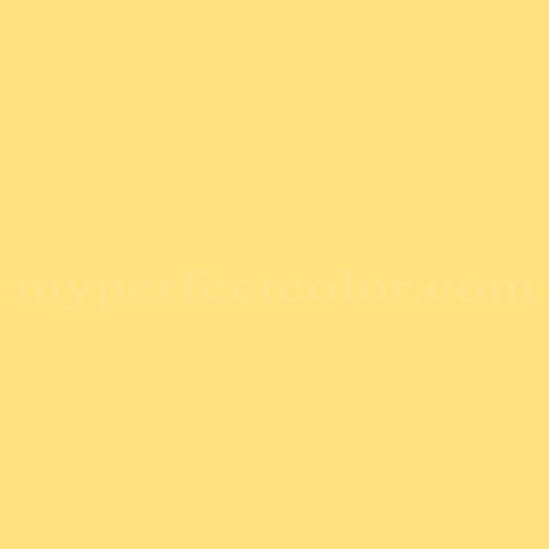 Match of Porter Paints™ 12248-4 Yellow Poppy *
