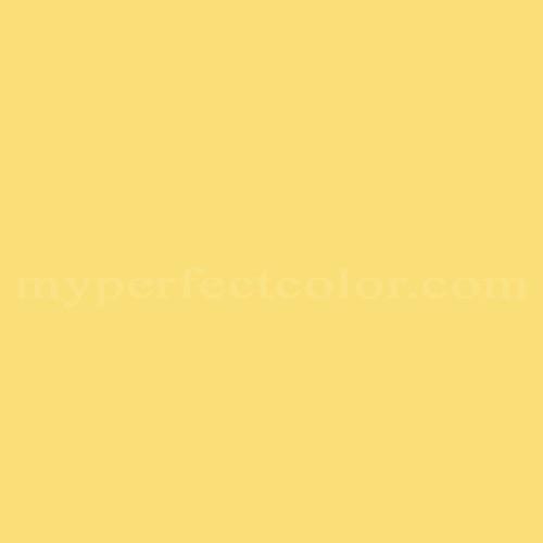 Match of Porter Paints™ 6245-4 Yellow Bird *