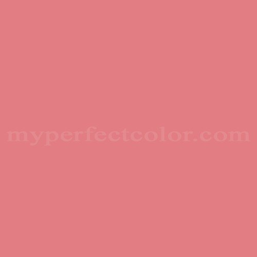 Match of Porter Paints™ 6082-5 Red Coral *