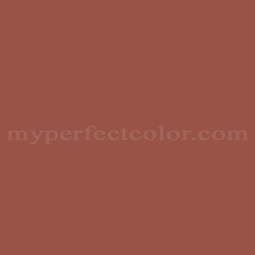 Color Match Of Porter Paints 6798 3 Red Earth