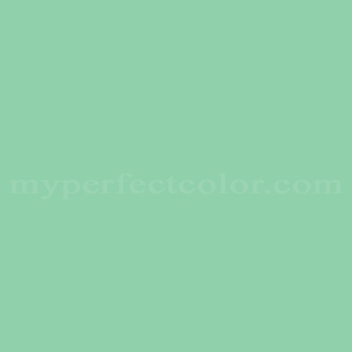 Match of Porter Paints™ 6322-4 Swirl Green *