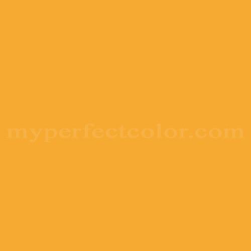 Match of Porter Paints™ 6168-3 Orange Zest *
