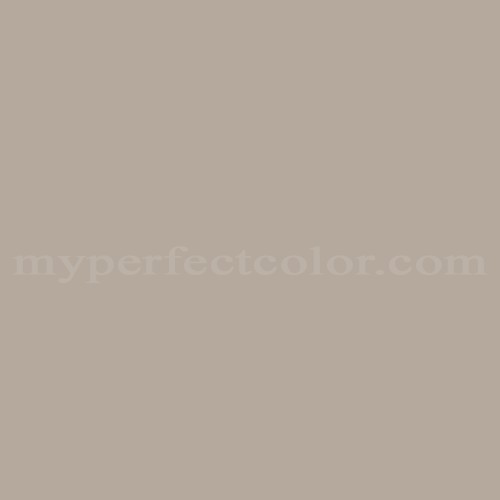 Color match of Porter Paints 6747-2 Shadow Taupe*