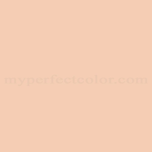 Match of Porter Paints™ 6129-1 Peach Pastel *