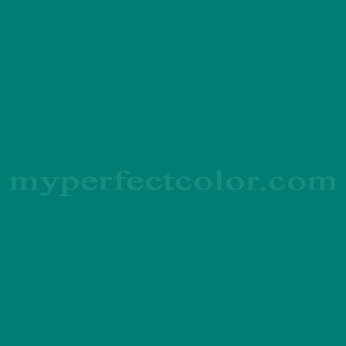 Match of Porter Paints™ 6372-4 Peacock *