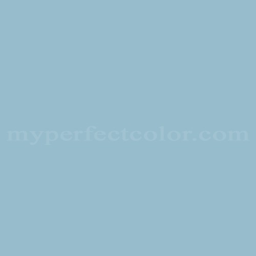 Color Match Of Porter Paints 6448 1 Muted Blue
