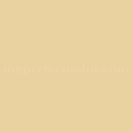 Match of Porter Paints™ 13185-2 Muted Yellow *