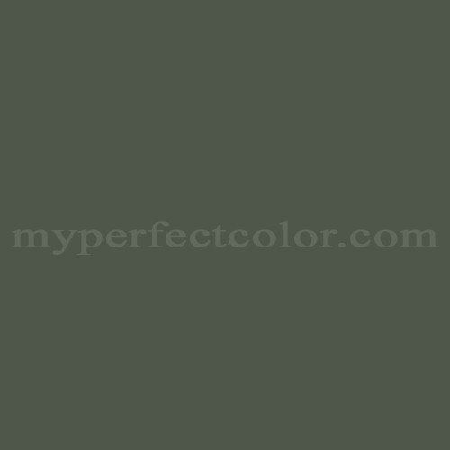 Match of Porter Paints™ 7050-5 Mountain Green *