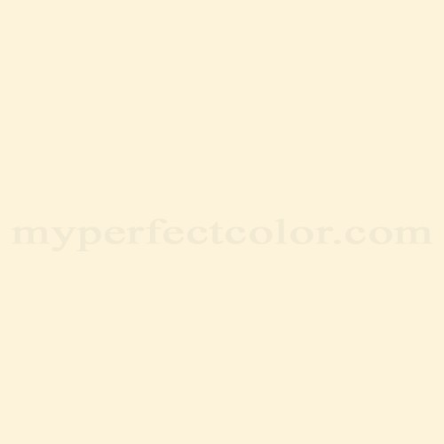 Match of Porter Paints™ 11917-1 Lemon Cream *