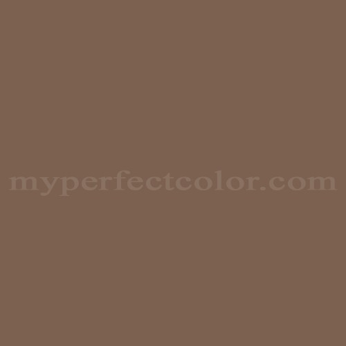 Color Match Of Porter Paints 16850 2 Chocolate Brown