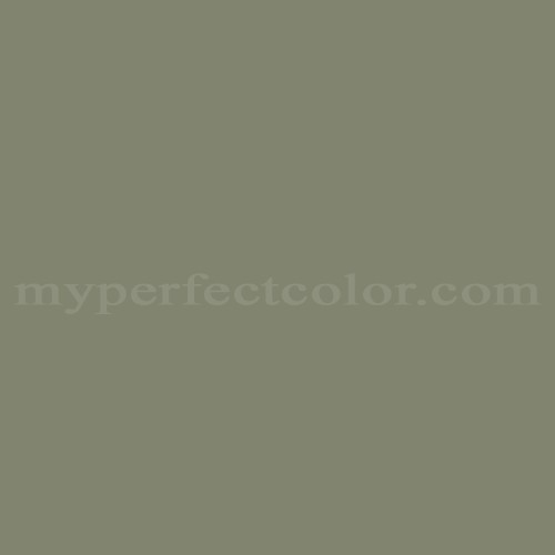 Match of Porter Paints™ 6971-3 Fjord Green *