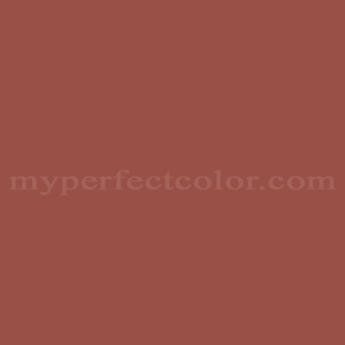 Color Match Of Porter Paints 6792 3 English Red