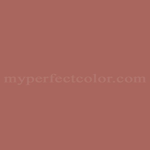 Match of Porter Paints™ 6791-3 Etruscan Red *