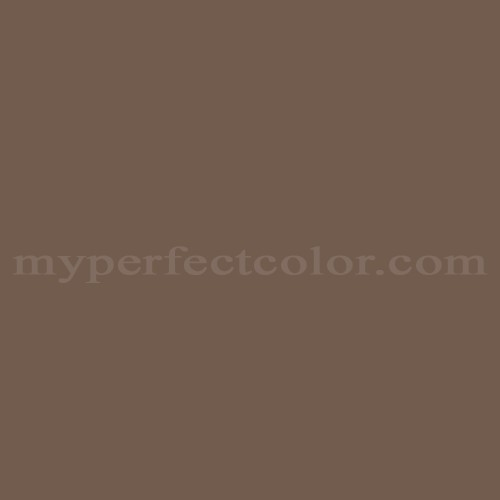 Match of Porter Paints™ 6744-3 Deep Chesnut *