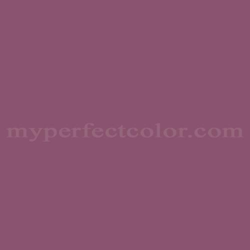 Match of Porter Paints™ 10151-6 Deep Maroon *
