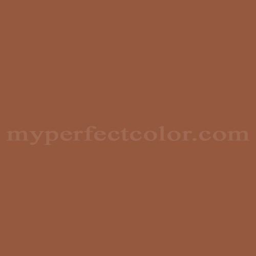 Match of Porter Paints™ 6804-4 Dark Russet *