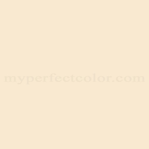 Color Match Of Porter Paints 6835 1 Cream White