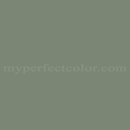 Match of Porter Paints™ 7049-3 Colony Green *