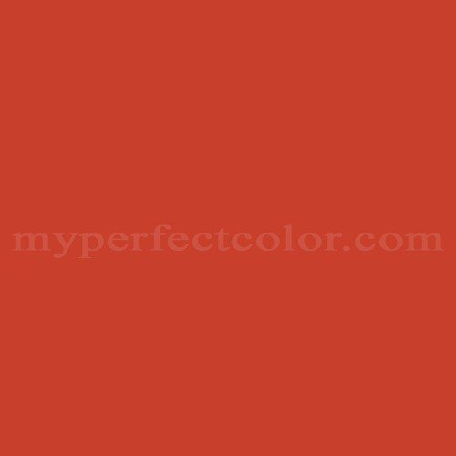 Match of Porter Paints™ 6090-5 Carnival Red *