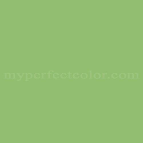 Color Match Of Porter Paints 6299 4 Cactus Green