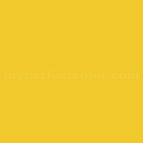Match of Porter Paints™ 12300-3 Aztec Yellow *