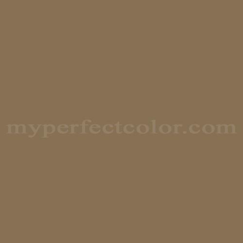Match of Porter Paints™ 12854-3 Autumn Bronze *