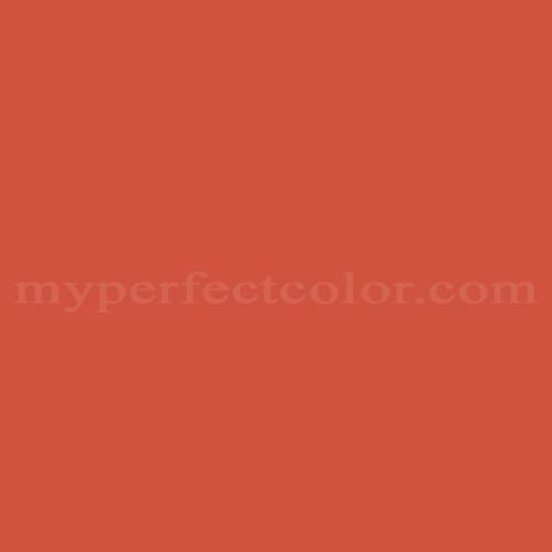 Match of Porter Paints™ 10605 Accent Orange *