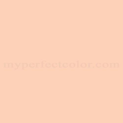 Color Match Of Premier Paints T12 4 Peach Parfait