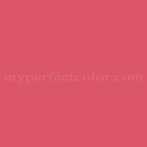 Color Match Of Premier Paints T5 8 Paradise Pink