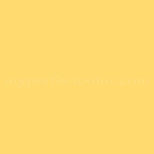 Match of Richard's Paint™ 2506-D Tulip Yellow *