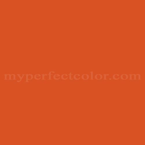 Color Match Of Ralph Lauren Gh173 Hunter Orange